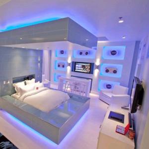 LED neon flex 220V blauw IP67 dimbaar per-meter plug & play 2