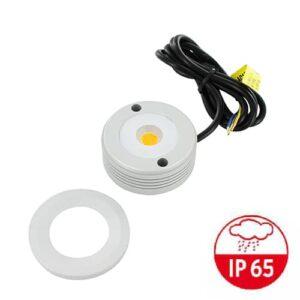 LED mini opbouwspot IP65 5Watt rond dimbaar