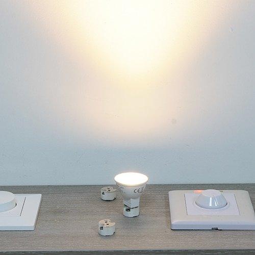 LED lamp mini MR11 3,7Watt dimbaar (12Volt)