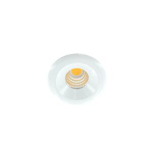 LED mini spot 48mm 3Watt rond WIT dimbaar