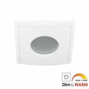LED spot Calisto GU10 7Watt vierkant wit IP65 dimbaar-11