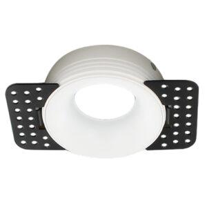 Trimless Spot Frame Armatuur Wit volledig