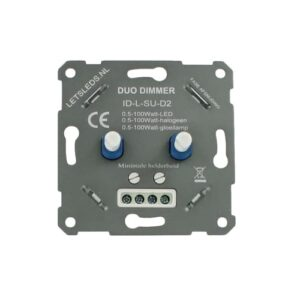 LED Duo-dimmer fase afsnijding