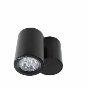 LED opbouwspot Malta 4Watt rond draaibaar ZWART dimbaar
