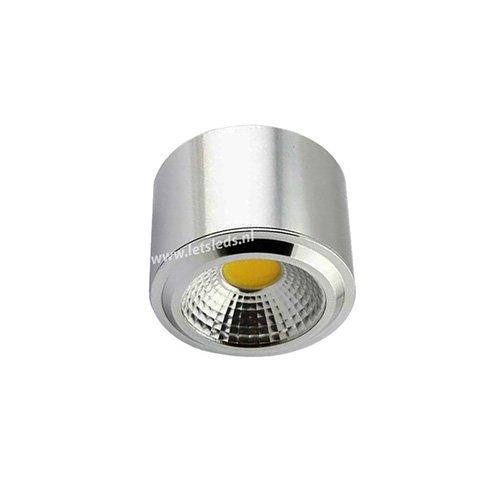 LED opbouwspot 3Watt rond dimbaar