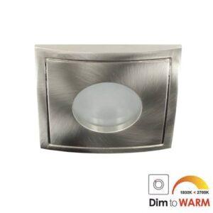 LED spot Calisto GU10 7Watt vierkant IP65 dimbaar