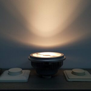 LED lamp GU10 AR111 12Watt dimbaar