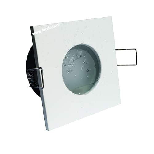 Wifi LED spot RGBW wit GU10 5Watt vierkant dimbaar