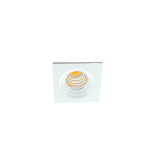 LED mini spot 3838mm 3Watt vierkant WIT dimbaar