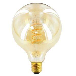 LED kooldraad E27 4Watt dimbaar globe 125mm amber