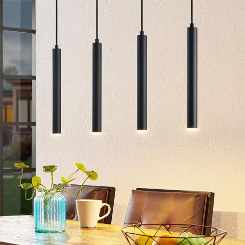 LED design hanglamp ZWART IP65 dimbaar sfeer 5