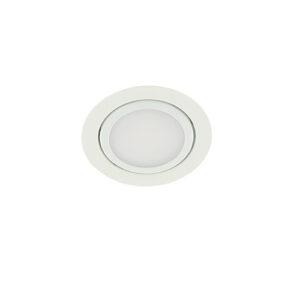 LED meubelspot 3Watt rond WIT dimbaar