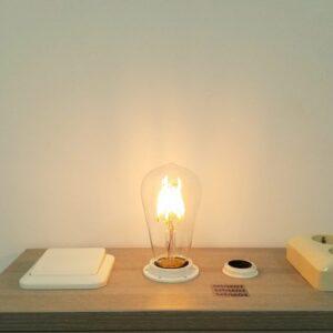 LED filament E27 6Watt dimbaar Edison