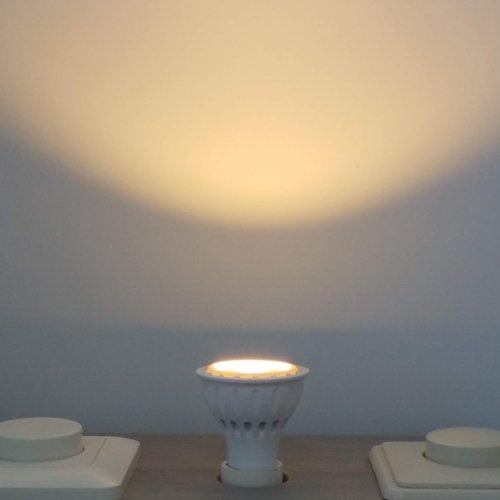 LED lamp GU10 6Watt dimbaar 220Volt