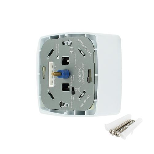 LED opbouwdimmer fase af- en aansnijding