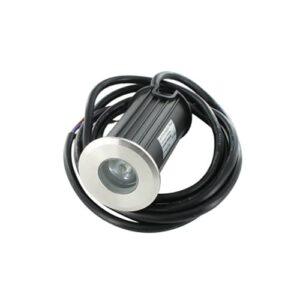 LED mini grondspot 1Watt RVS 304 rond IP65 dimbaar02