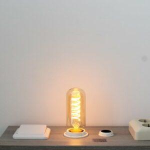 LED kooldraad E27 4Watt dimbaar T45 amber