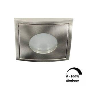 LED spot Calisto GU10 6Watt vierkant IP65 dimbaar