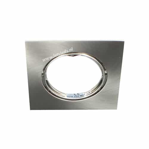 LED lamp armatuur vierkant kantelbaar