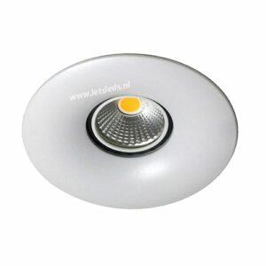 LED spot GU10 COB 3Watt rond WIT dimbaar