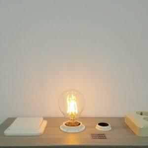 LED filament E27 8Watt dimbaar A19