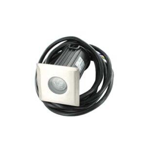 LED mini grondspot 1Watt RVS 304 vierkant IP65 dimbaar02