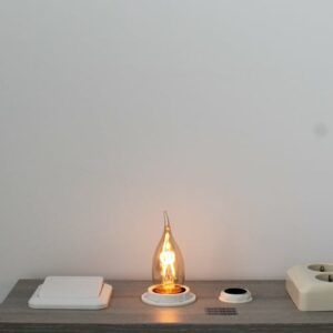 LED kooldraad E27 3Watt dimbaar vlam amber