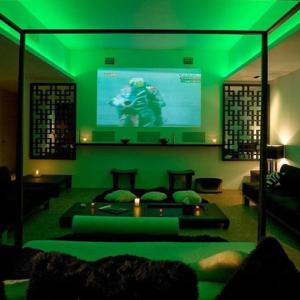 LED neon flex 220V groen IP67 dimbaar per-meter plug & play 2