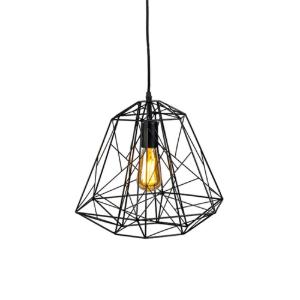 Industriële hanglamp zwart - Framework Luxe
