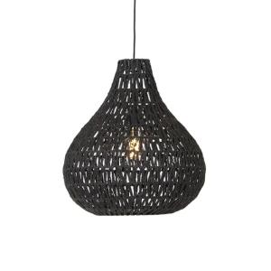 Industriële hanglamp zwart - Lina Drop