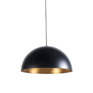 Industriële hanglamp zwart & goud - Magna Eco 1