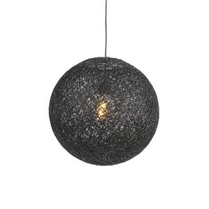 Industriële hanglamp zwart rond model - Corda 1