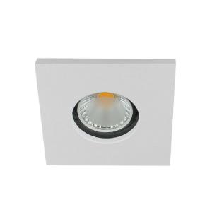 LED spot GU10 COB 5Watt vierkant WIT IP65 dimbaar