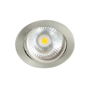 LED spot kantelbaar 5Watt rond NIKKEL dimbaar-D-2