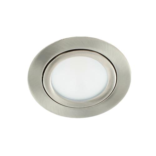 LED spot kantelbaar 5Watt rond NIKKEL dimbaar-D2-1