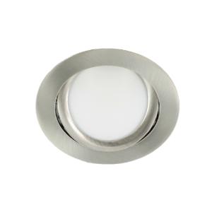 LED spot kantelbaar 5Watt rond NIKKEL dimbaar-D3-2