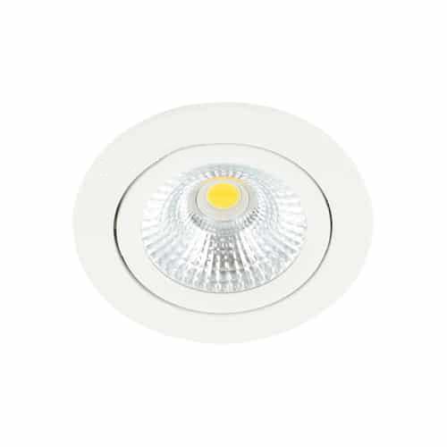 LED spot kantelbaar 5Watt rond WIT dimbaar-D-1