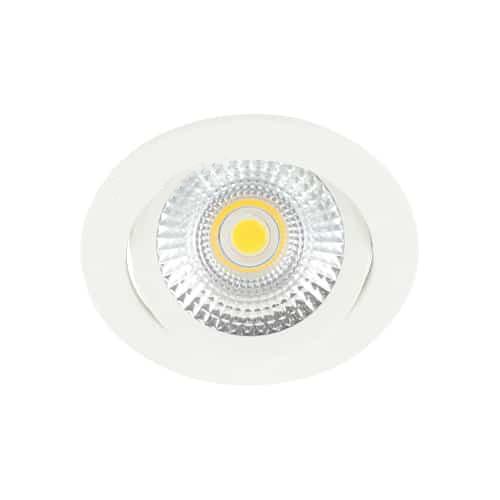 LED spot kantelbaar 5Watt rond WIT dimbaar-D-2