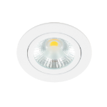LED spot kantelbaar 5Watt rond WIT dimbaar-D1-1