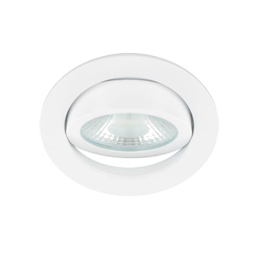 LED spot kantelbaar 5Watt rond WIT dimbaar-D1-3