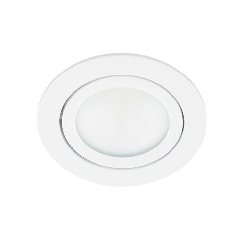 LED spot kantelbaar 5Watt rond WIT dimbaar-D2-1