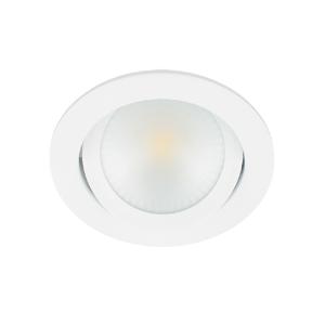 LED spot kantelbaar 5Watt rond WIT dimbaar-D2-2