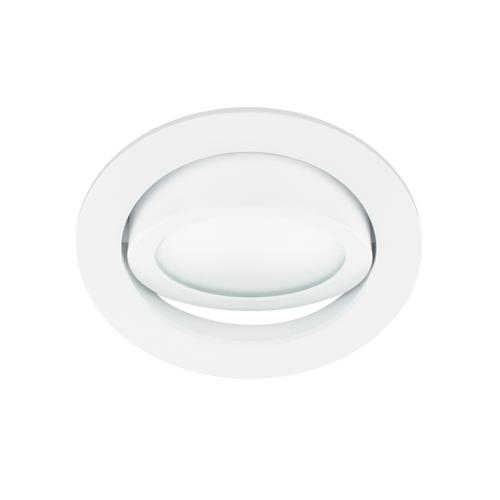 LED spot kantelbaar 5Watt rond WIT dimbaar-D2-3