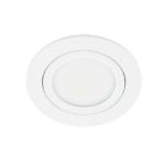 LED spot kantelbaar 5Watt rond WIT dimbaar-D3-1