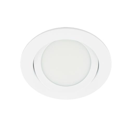 LED spot kantelbaar 5Watt rond WIT dimbaar-D3-2