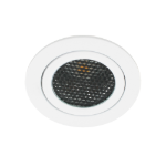 LED spot kantelbaar 5Watt rond WIT dimbaar-D5-1