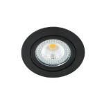 LED spot kantelbaar 5Watt rond ZWART IP65 dimbaar D1-1 - Zonder driver