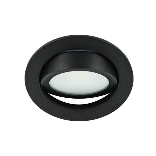 LED spot kantelbaar 5Watt rond ZWART dimbaar-D2-3