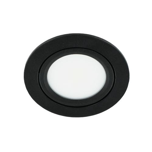 LED spot kantelbaar 5Watt rond ZWART dimbaar-D3-1