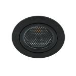 LED spot kantelbaar 5Watt rond ZWART dimbaar-D5-1